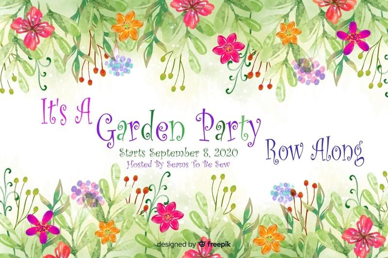It's a Garden Party Row Along