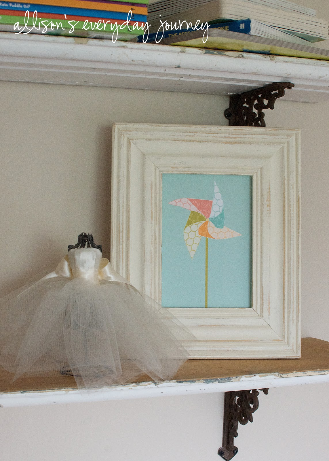 A painted frame - my first experience with chalk paint - The Golden ...