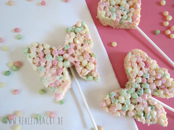 Bunte Sweet'n'Sour Rice Crispy Treats | Foodblog Rehlein backt