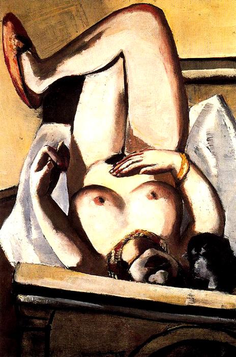 De La Pintura Juan Carlos Boveri Mujer Desnuda Con Perro Ma Beckmann