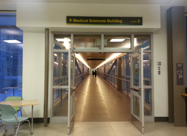 UAlberta Pedway - ECHA to Med Sci