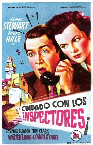 CUIDADO CON LOS INSPECTORES (1950)