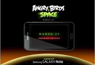 Trailer of New Angry Birds Version for Galaxy Note
