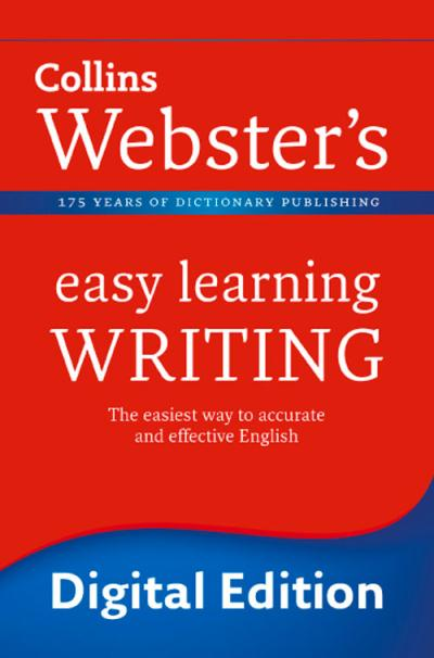 Download Collins Webster's Easy Learning Writing