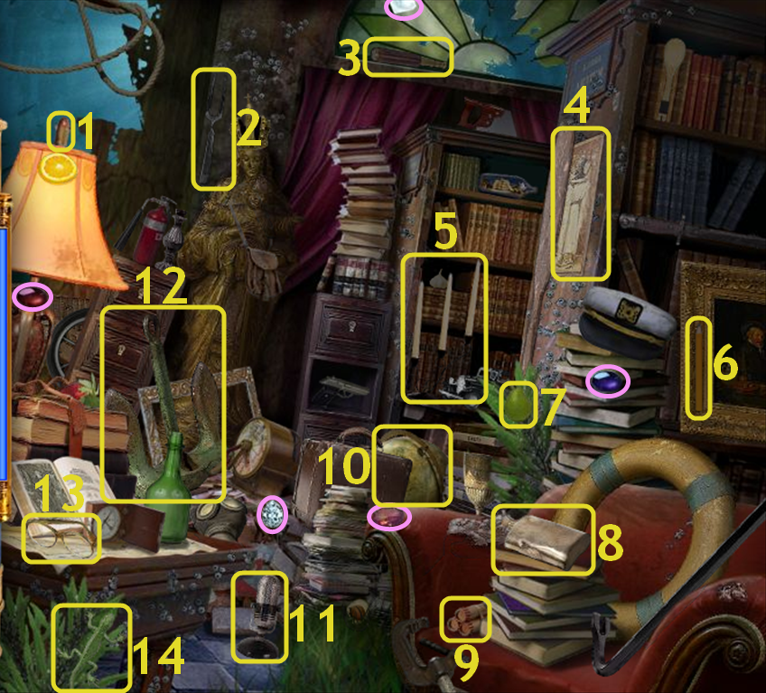 Hidden Expedition: Titanic - Library
