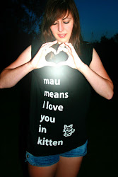 mau means I love you in kitten