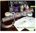 Sorteio no blog Beauty is a Light in the Heart