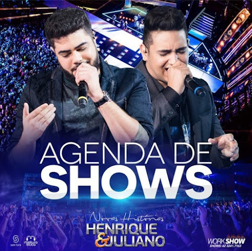 Agenda de Shows Novembro 2016 - Henrique & Juliano