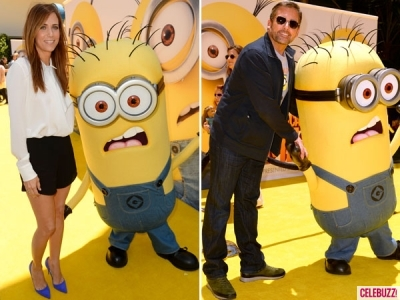 Steve Carell Kristen Wiig minions Despicable Me 2 2013 animatedfilmreviews.blogspot.com