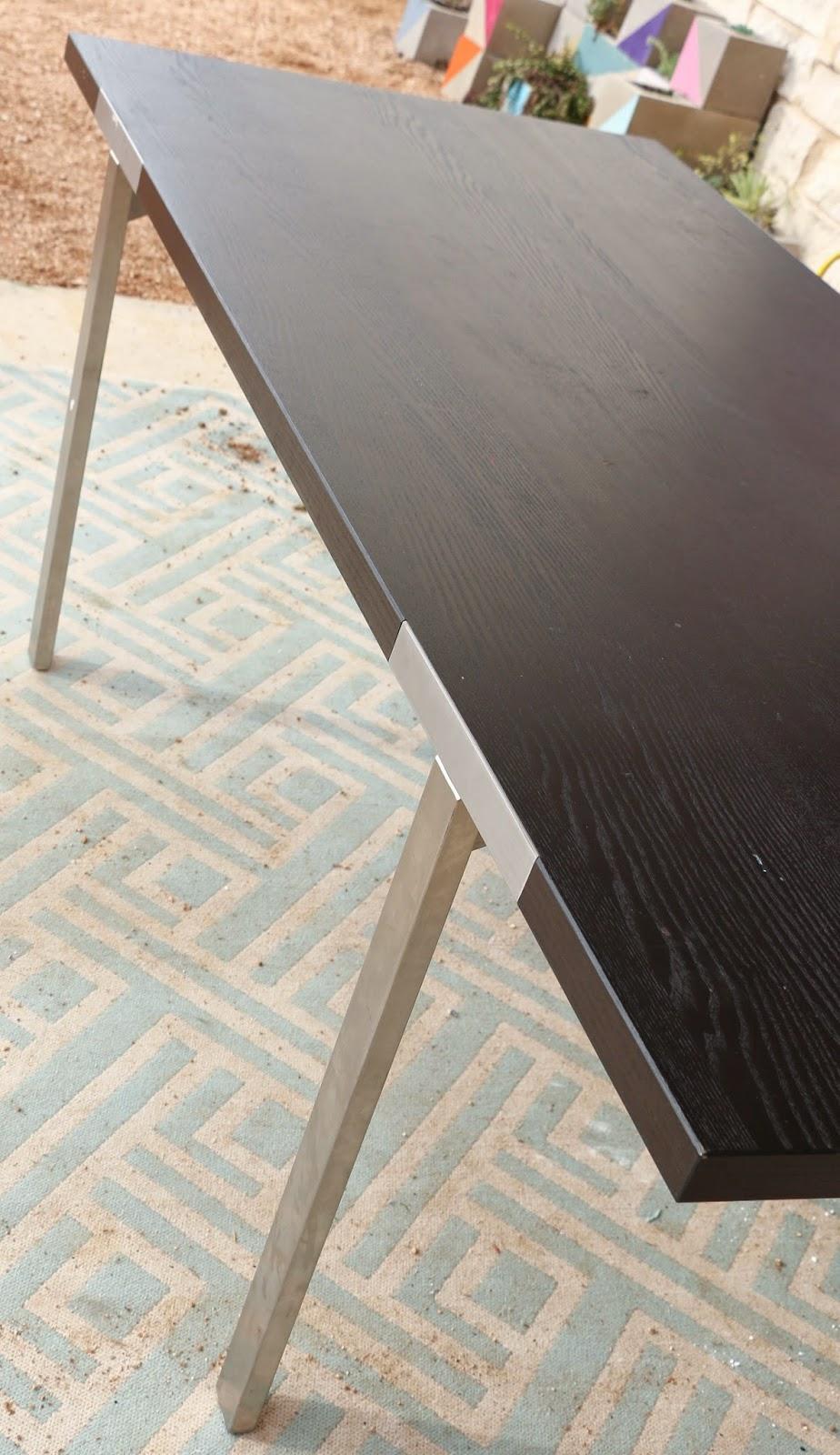 Diy Mid Century Modern Dining Table A Kailo Chic Life A 60 Mid Century Modern Ikea Dining Table Hack