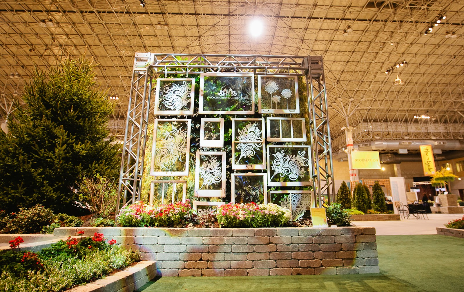 Emmy Star Brown Chicago Flower Garden Show Navy Pier