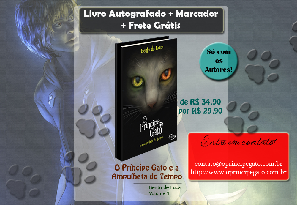 site do O Principe Gato
