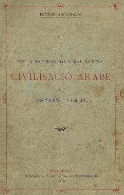 Tomo 6 de Errors Histórich de Joseph Brunet i Bellet: Civilisació arabe