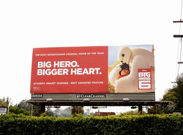 Big Hero 6 Oscar billboard