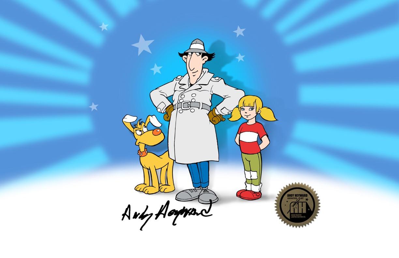 Worksheet. Inspector Gadget Blog Fan AdelanteGadgetoblog Cels de animacin