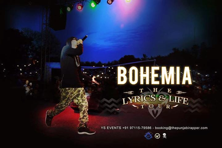 BOHEMIA performing live in India March 2015