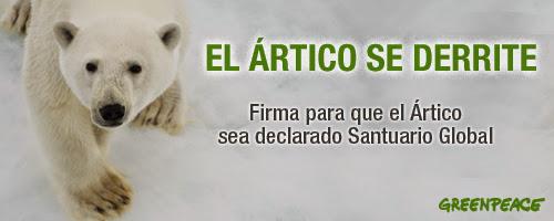 Firma para ayudar a salvar el Ártico