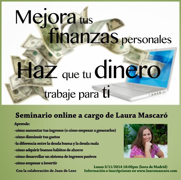 Seminario online: finanzas personales