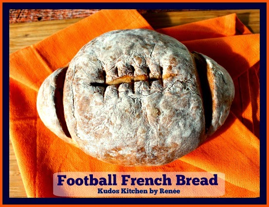 Football French Bread is perfect for any game day celebration.