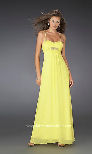 yellow cocktail wedding dresses