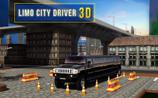 Screenshots of the Limo city driver 3D for Android tablet, phone.