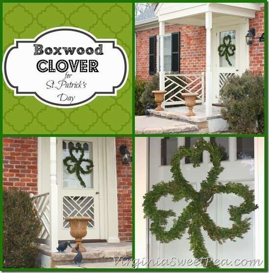 http://www.virginiasweetpea.com/2014/03/boxwood-clover-wreath-st-patricks-day.html
