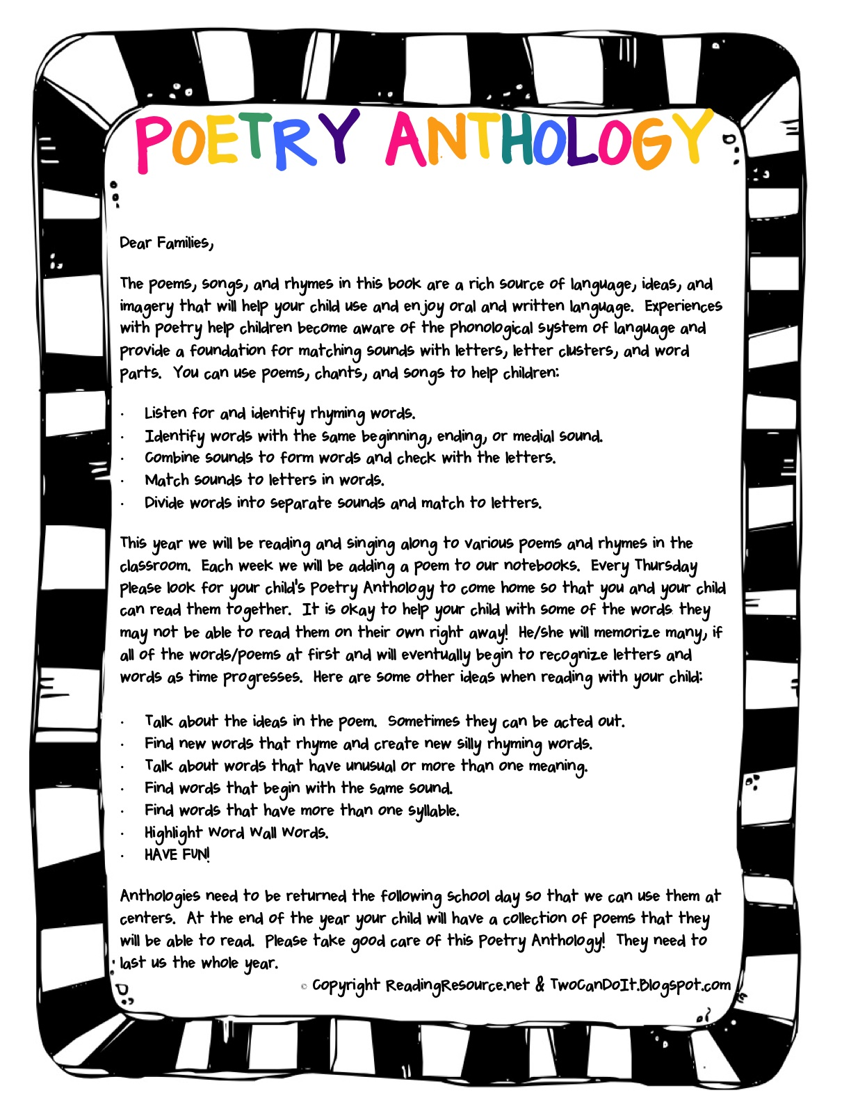 Amateur Poetry Anthologies