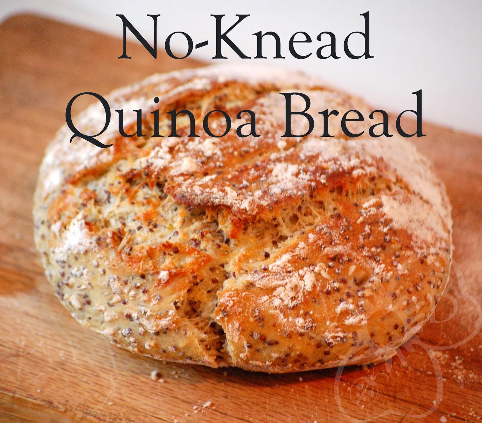 Violet's Buds: Whole Quinoa Bread Recipe