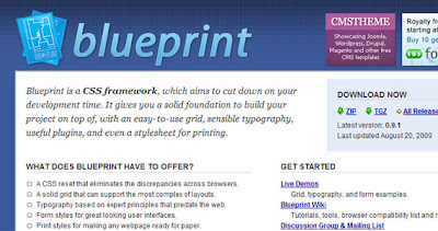  Blueprint CSS, construye tu proyecto online 