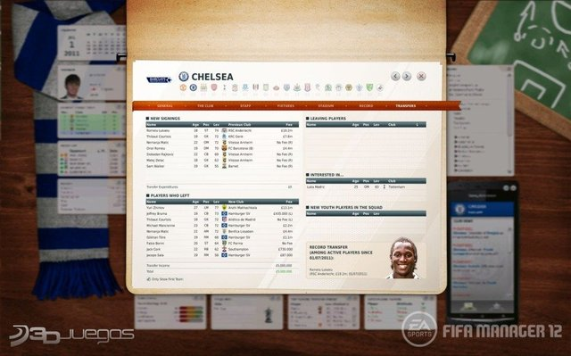 Capturas Fifa 12 Manager 2012 PC FULL