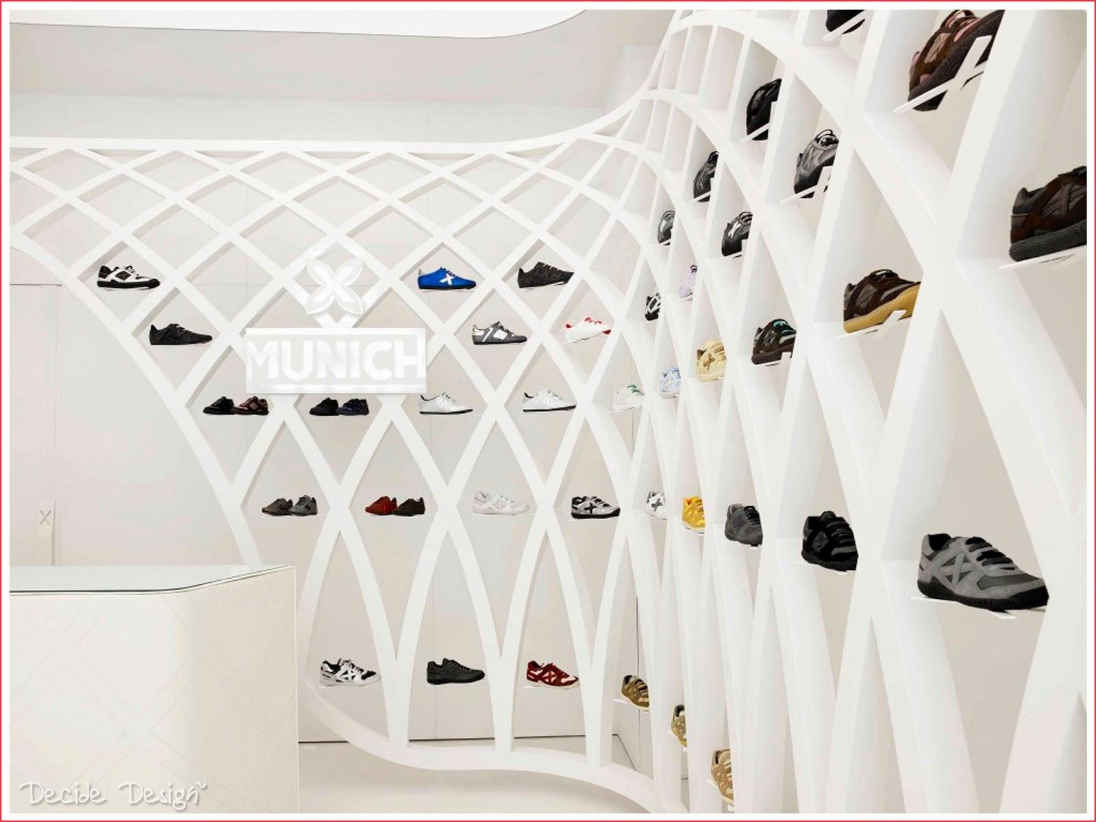 Decide desig the futuristic mesh - Estanterias para calzado ...