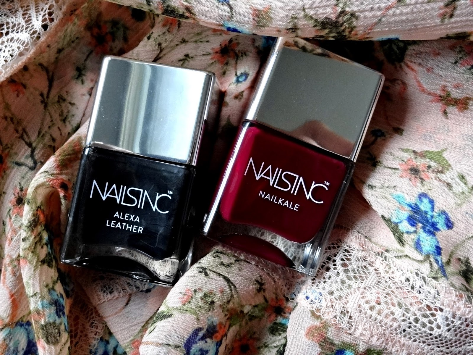 Nails Inc. Nailkale in Holland Walk and Alexa Leather Review, Photos & Swatches