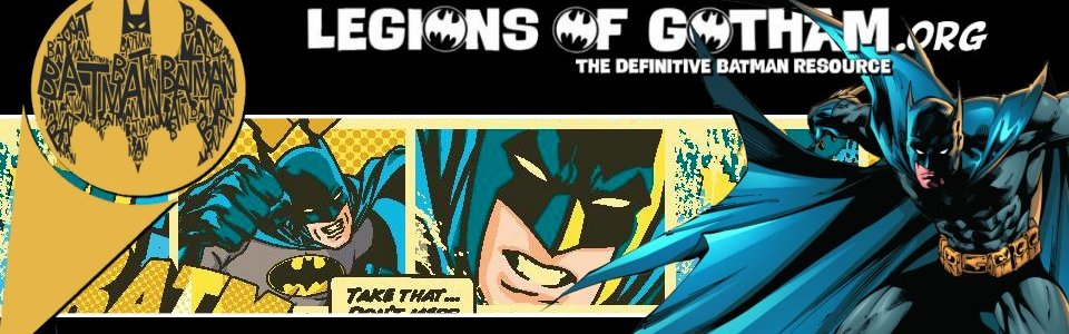 Gotham Times: Batman News from Legions of Gotham