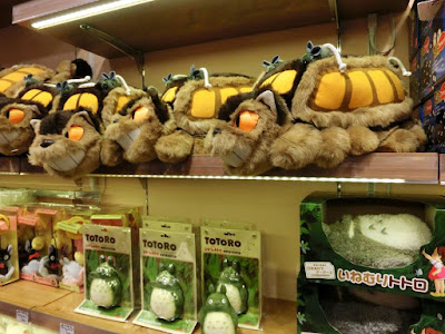 Totoro merchandises sold in Donguri Republic at Taipei