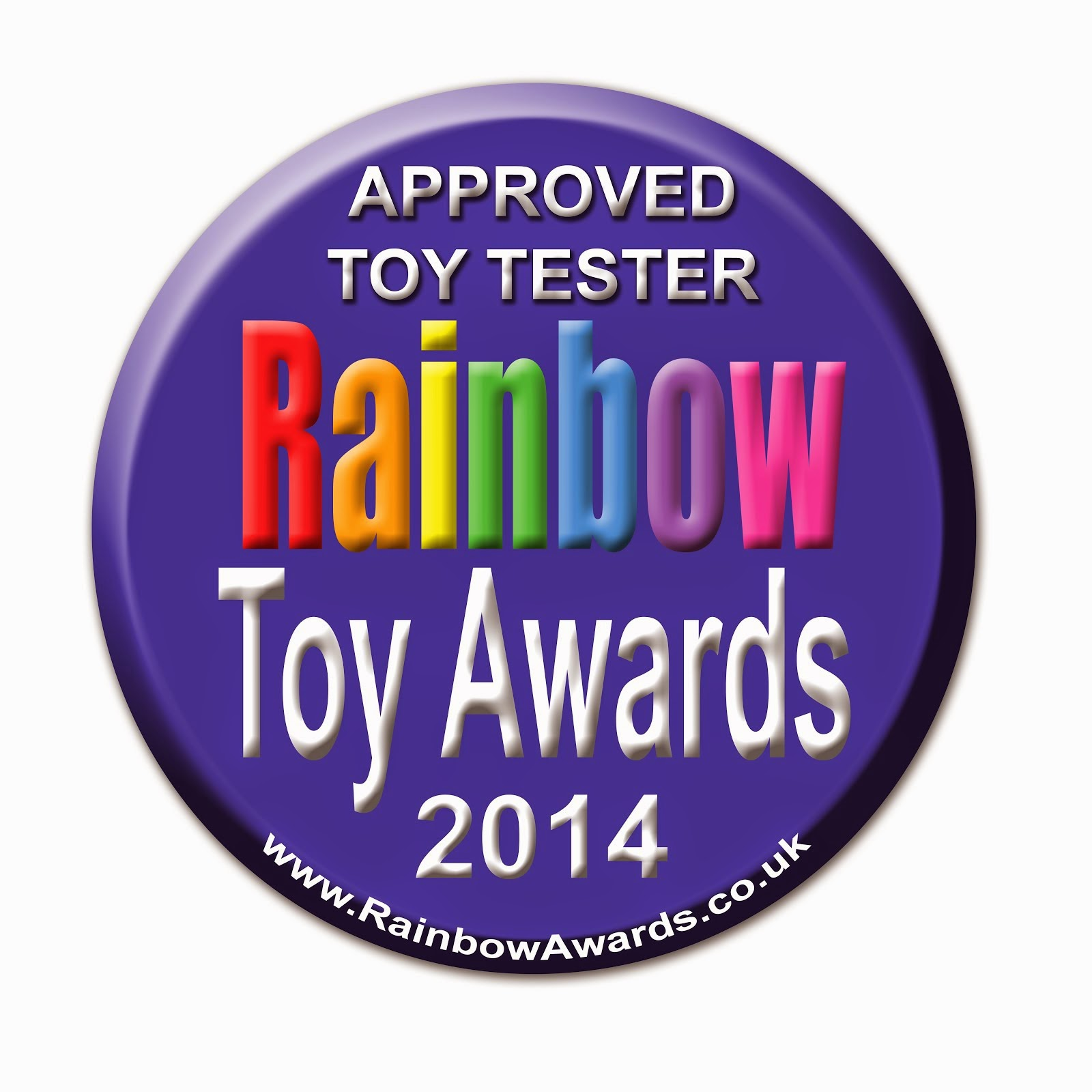 Rainbow Toy Awards Blogger