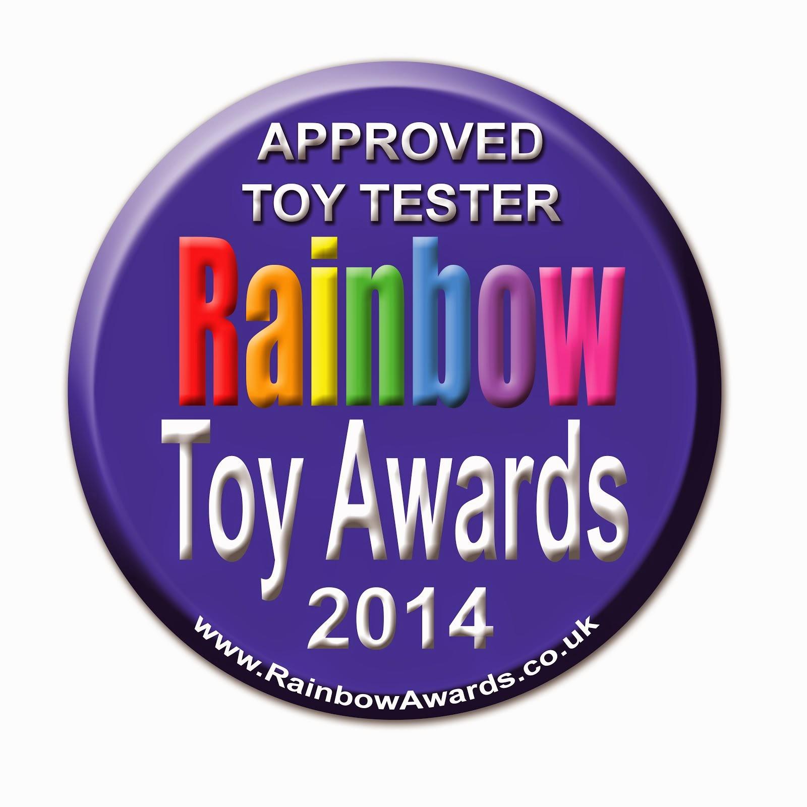 Rainbow Toy Awards Blogger