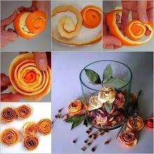 Orange flowers for your potpourri..