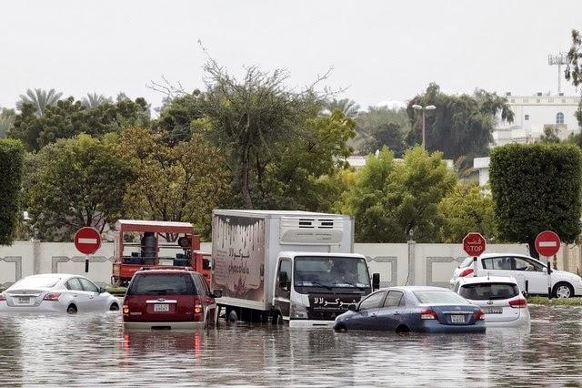 Flooding in Ras Al Khaimah