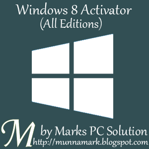 Activate all version of Windows 8