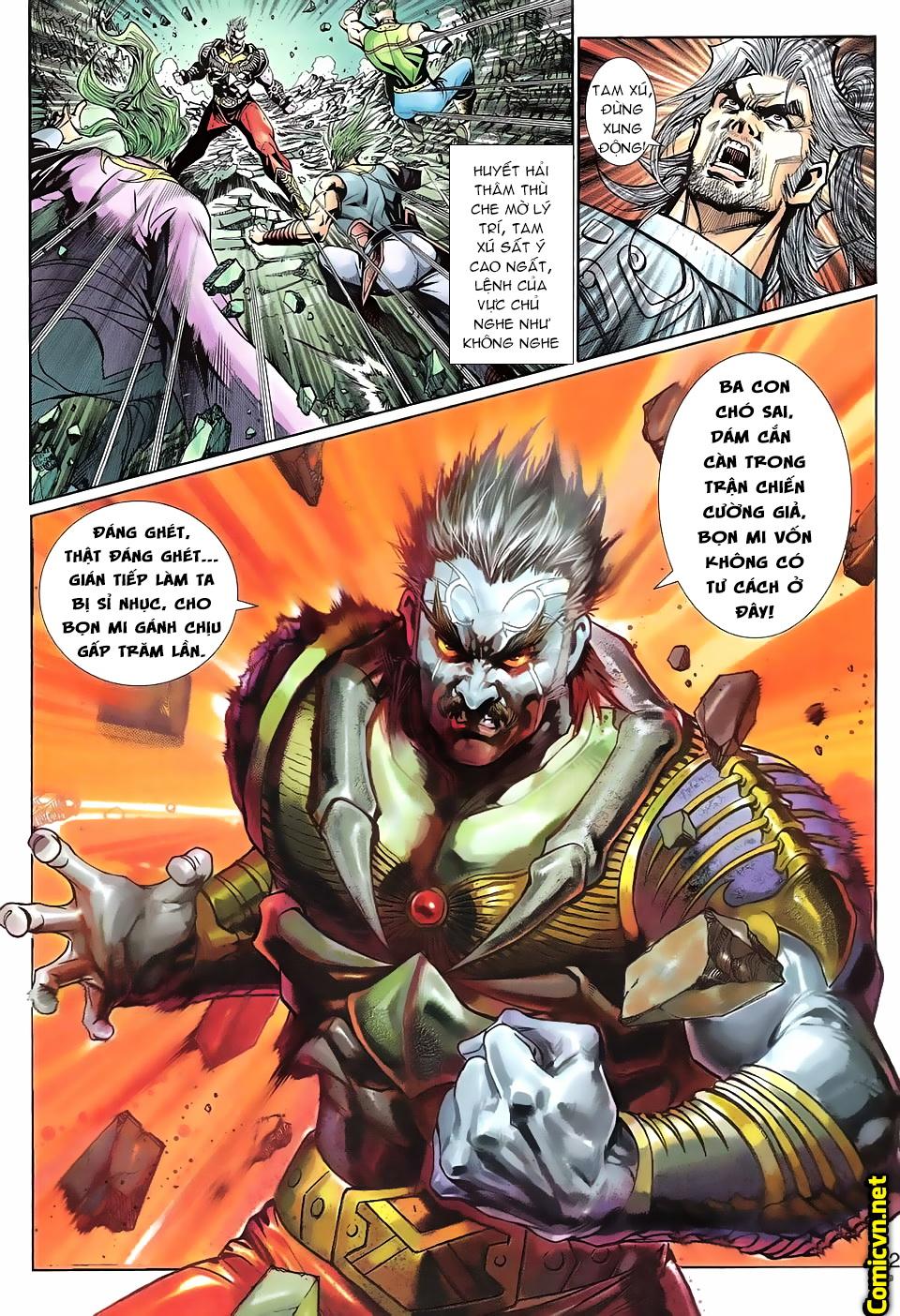 Thần binh huyền kỳ 3 - 3.5 Chapter 90 - Hamtruyen.vn