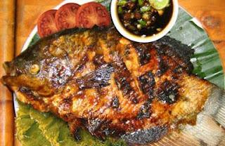 Langga Roko Traditional Grilled Fish (Ikan Bakar Khas Makassar)