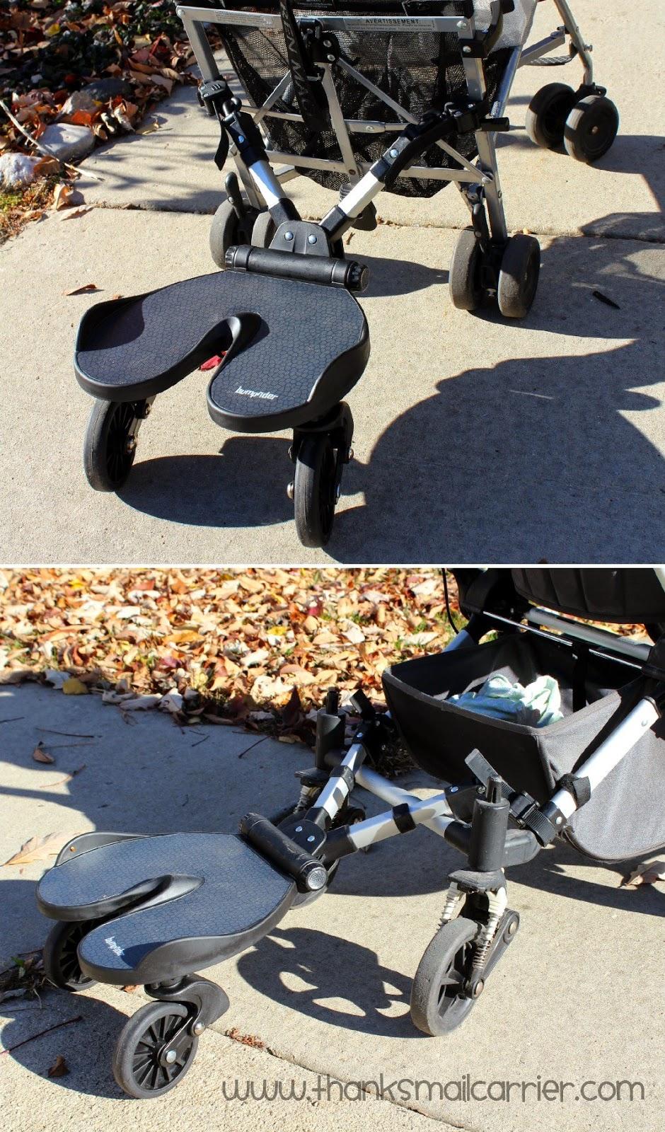 Joovy stroller Bumprider review