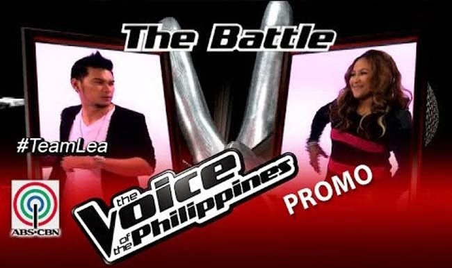 Watch Leah Patricio vs Humfrey Nicasio on The Voice of the Philippines Team Lea's Battles Round