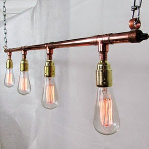 Ma Bicyclette - Buy Handmade - Lighting - Unique's - Copper Lighting