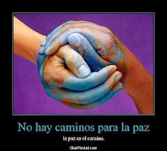 Es tiempo de cultivar la Paz...