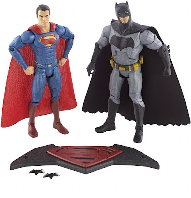 San Diego Comic-Con 2015 Exclusive Batman v Superman: Dawn of Justice Action Figure Box Set by Mattel