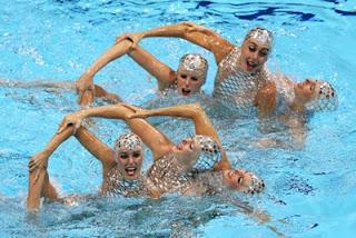 medalla de bronce Natación Sincronizada femenina equipo español España Juegos Olímpicos de Londres 2012