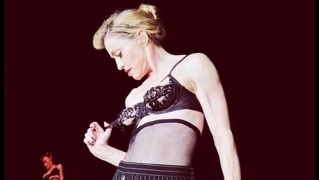 Madonna Pamer Dada