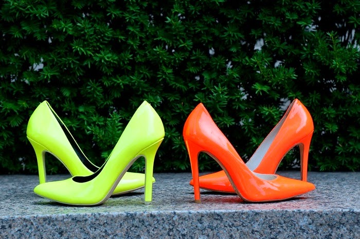 neon pumps,tea, greentea, alice+Olivia, sole society, wiw, outfit,ootd,ootn, chilling, carefree,howto,shallwesasa