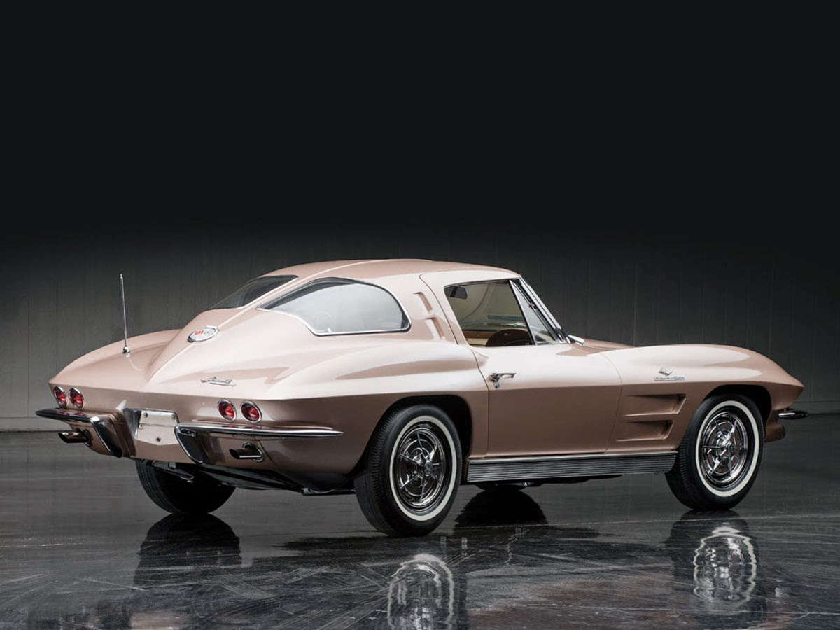Fab wheels digest f w d 1963 chevrolet corvette sting for 1963 split window coupe corvette